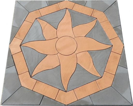 Octagonal Aztec Sun Patio Kit